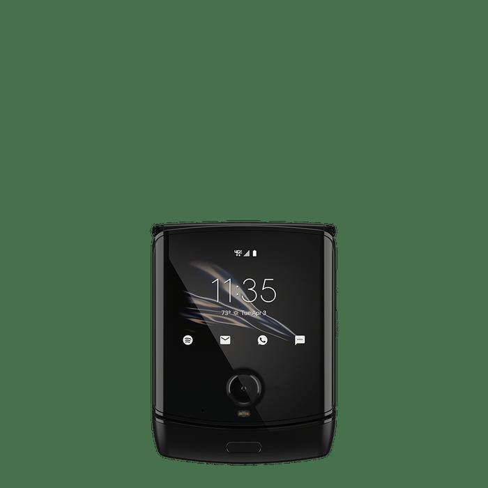 MotorolaRazr_Negro_FrontsideClosed