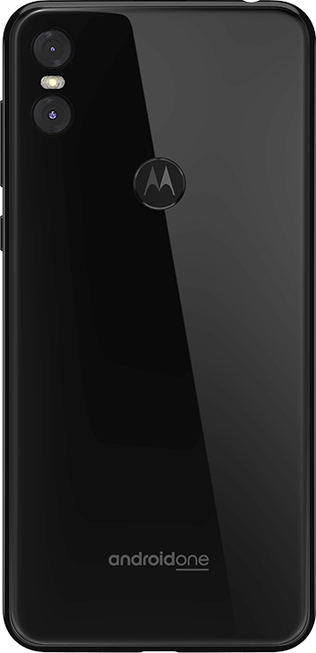 Traseira do Motorola One